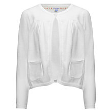 Buy John Lewis Girl Single Button Cardigan Online at johnlewis.com