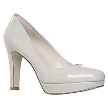 Buy Nine West Homag3 High Gloss Platform Court Shoes Online at johnlewis.com