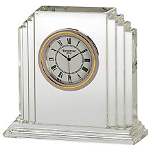 Buy Waterford Crystal Metropolitan Clock Online at johnlewis.com