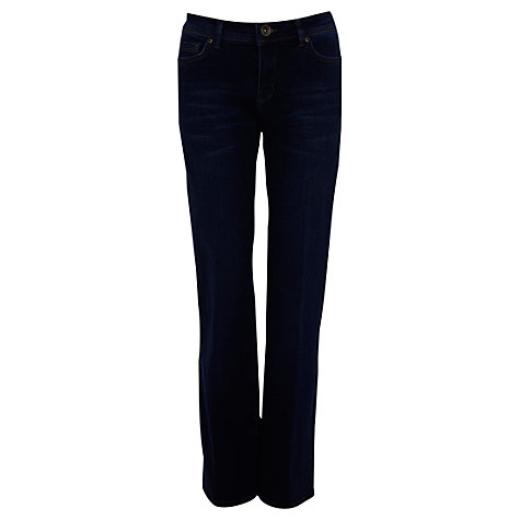 Buy Oasis Mid Wash Scarlet Jeans, Denim Online at johnlewis.com