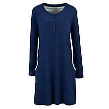 Buy John Lewis Deauville Nightdress, Navy Online at johnlewis.com