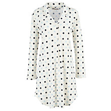 Buy John Lewis Deauville Spotted Nightshirt, Multi Online at johnlewis.com