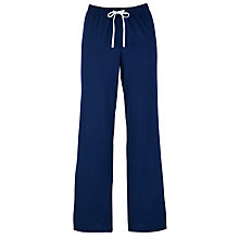 Buy John Lewis Deauville Pyjama Trousers, Navy Online at johnlewis.com