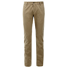 Buy Dockers Alpha Khaki Slim Fit Trousers, Khaki Online at johnlewis.com
