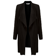 Buy East Pure Merino Wool Cardigan, Black Online at johnlewis.com