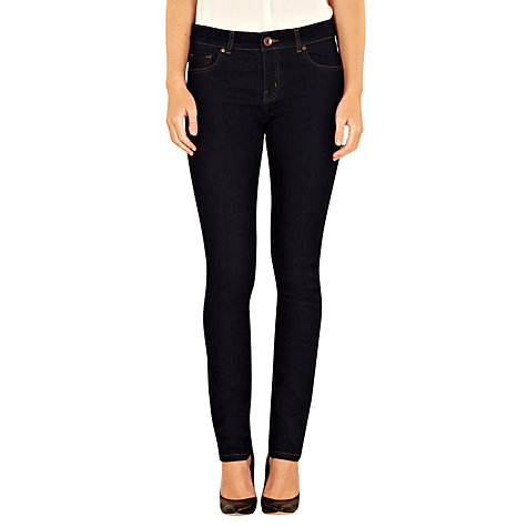 Buy Oasis Rinse Wash Cherry Trousers, Denim Online at johnlewis.com