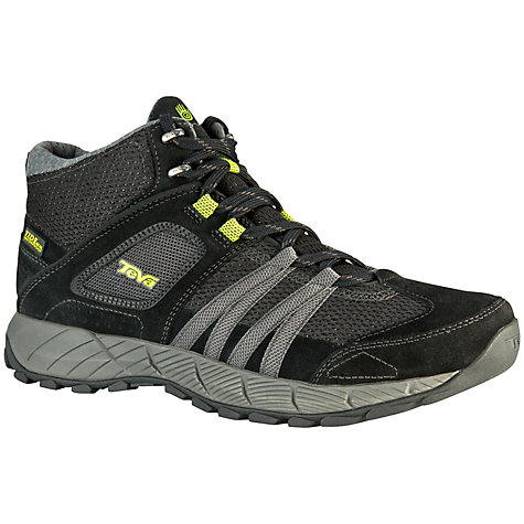 Buy Teva Wapta Men's Mid Waterproof Boots, Black Online at johnlewis.com