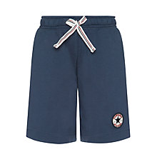 Buy Converse Chuck Patch Terry Shorts, Navy Online at johnlewis.com