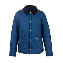 Buy Barbour Heritage Liddesdale Jacket, Indigo Online at johnlewis.com