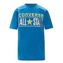 Buy Converse All Star License Plate T-Shirt Online at johnlewis.com