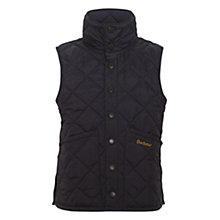 Buy Barbour Liddesdale Gilet, Navy Online at johnlewis.com
