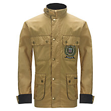Buy Barbour Branham Jacket, Beige Online at johnlewis.com