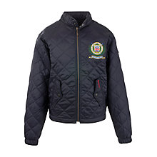 Buy Barbour Rambler Jacket, Navy Online at johnlewis.com