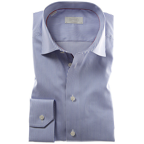 Buy Eton Bengal Stripe Long Sleeve Shirt Online at johnlewis.com