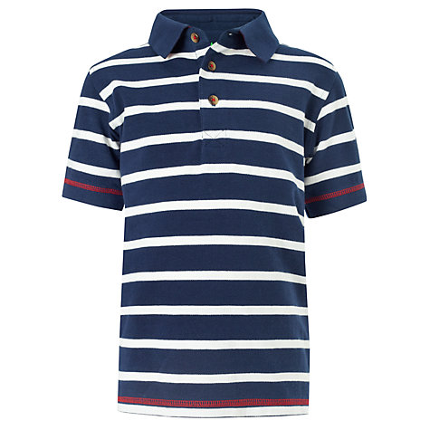 Buy John Lewis Boy Striped Polo Shirt Online at johnlewis.com