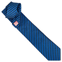 Buy Thomas Pink Welland Grid Woven Tie Online at johnlewis.com