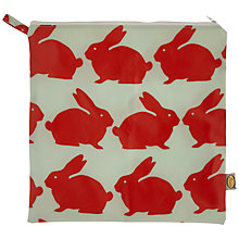 Buy Anorak Kissing Rabbits Washbag Online at johnlewis.com