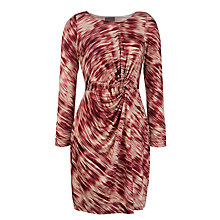 Buy Ghost Rosalyn Jersey Knot Front Dress Online at johnlewis.com