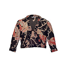 Buy Chesca Butterfly Mesh Bolero, Black Online at johnlewis.com