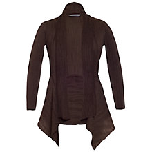 Buy Chesca Crush Pleat Jacket, Brown Online at johnlewis.com