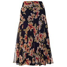 Buy Chesca Floral Print Panel Skirt, Multi Online at johnlewis.com