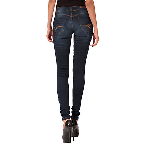 Buy Desigual The Wow Jeans, Blue Online at johnlewis.com