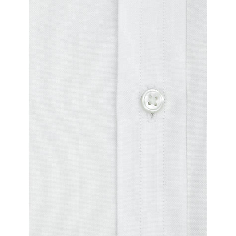 Buy Thomas Pink Plain Oxford Classic Fit Double Cuff Shirt, White Online at johnlewis.com