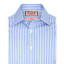 Buy Thomas Pink XL Sleeves Butron Shirt Online at johnlewis.com