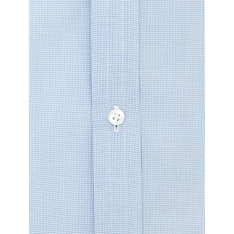 Buy Thomas Pink Houndstooth XL Sleeve Shirt, Blue Online at johnlewis.com