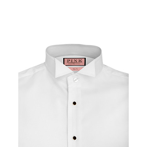 Buy Thomas Pink Marcella Wing Collar Dress Shirt, White Online at johnlewis.com