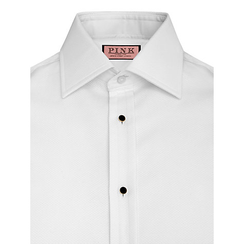 Buy Thomas Pink Marcella Super Slim Dress Shirt, White Online at johnlewis.com
