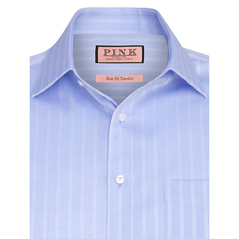 Buy Thomas Pink Race Texture Long Sleeve Shirt Online at johnlewis.com