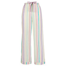 Buy John Lewis Striped Pyjama Bottoms, Multi Online at johnlewis.com