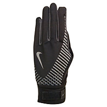 Buy Nike Women's Elite Storm Fit Tech Running Gloves, Black Online at johnlewis.com