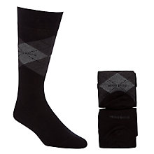 Buy Hugo Boss Argyle Socks, Pack of 2 Online at johnlewis.com