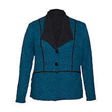 Buy Chesca Crinkle Reversible Jacket, Teal Online at johnlewis.com