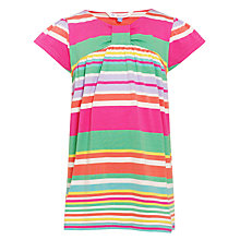 Buy John Lewis Girl Striped Top, Multi Online at johnlewis.com