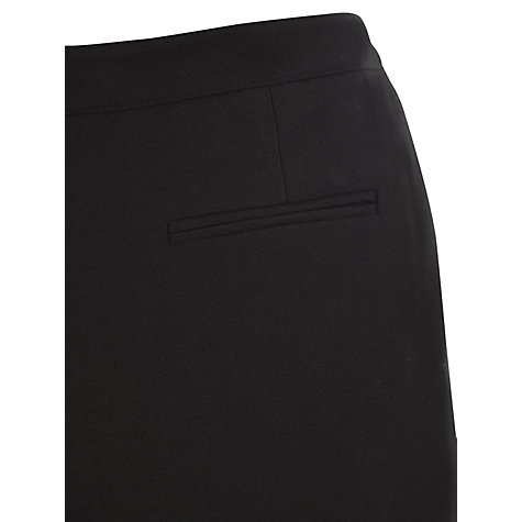 Buy Viyella Petite Wool Mix Trousers, Black Online at johnlewis.com