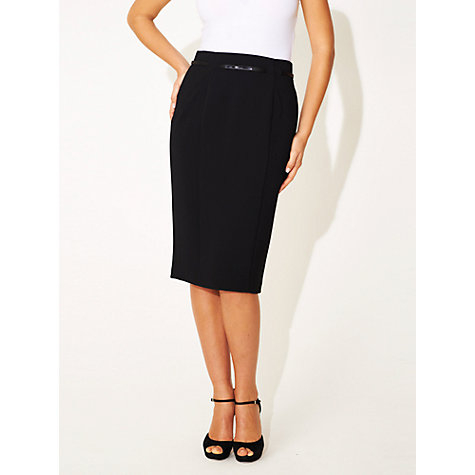 Buy Damsel in a dress Roma Long Skirt, Black Online at johnlewis.com