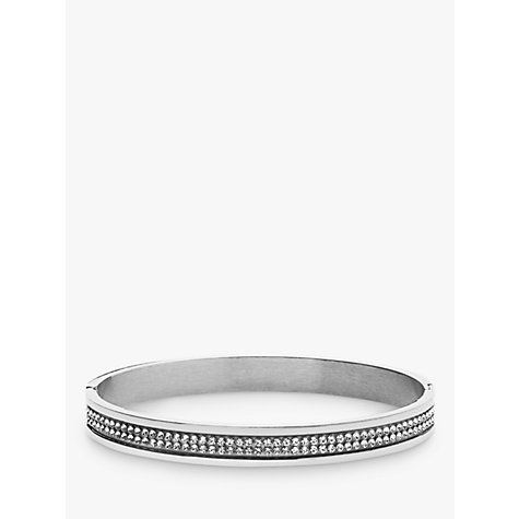 Buy Dyrberg/Kern Lorbel Double Row Crystal Set Bangle Online at johnlewis.com