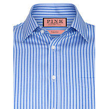 Buy Thomas Pink XL Sleeves Stanley Stripe Shirt, Blue Online at johnlewis.com