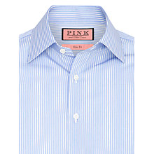 Buy Thomas Pink Nelson Stripe Shirt, Blue Online at johnlewis.com