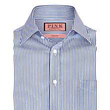 Buy Thomas Pink XL Sleeves Major Stripe Shirt, White/Navy Online at johnlewis.com