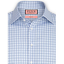 Buy Thomas Pink Fawkes Check Shirt, Blue Online at johnlewis.com