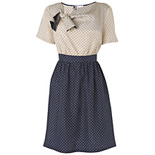 Buy Boutique by Jaeger Billie Spot Shift Dress, Navy Online at johnlewis.com