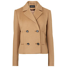 Buy Jaeger Double Breasted Jacket, Camel Online at johnlewis.com