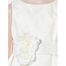 Buy John Lewis Girl Organza Bridesmaid Dress, Ivory Online at johnlewis.com