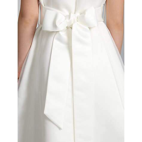 Buy John Lewis Girl Organza Dress, Ivory Online at johnlewis.com