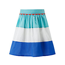 Buy John Lewis Girl Block Stripe Skirt Online at johnlewis.com