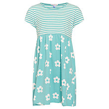 Buy John Lewis Girl Bold Flower and Stripe Dress Online at johnlewis.com